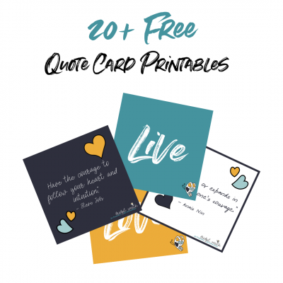 20 Free Quote Cards